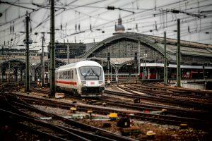 met de trein naar Berlijn
